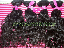 "22"" straight indian human hair"