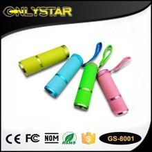 promotional flashlight with 9 waterproof torch, aluminum led flashlight housing pocket torch, 9led flashlight hand torch light