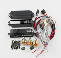 Artec Power Single Coil Active Pickups With Complete Wiring Setup (SMDC35)