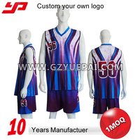 100% polyester sublimation national basketball jerseys and team uniforms