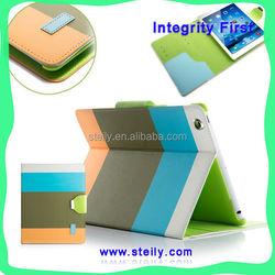 Modern Stylish For iPad air Case, Dormancy Leather Case For iPad air, PU Leather Stand For iPad Case