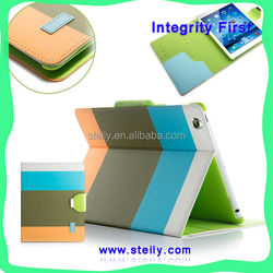 Modern Stylish For iPad air Case, Dormancy Leather Case For iPad air, PU Leather Stand For iPad Case