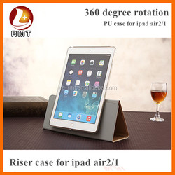 New arrival retro crazy horse pu leather case for iPad air 2, for iPad air 2 case