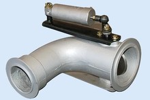 Exhaust pipe vent-pipe of diesel engine, Sand cast iron vent-pipe,car parts/auto vent-pipe