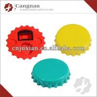 promotion custom logo plastic twist cap bottle opener