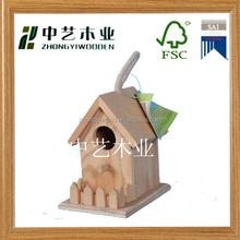 FSC&SA8000 promotional new design cheap wooden bird house wholesale bird nest