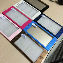 20 pcs/pack free sample Newest wholesale standable PU Leather Mobile Phone Case for Iphone 6