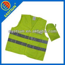 EN20471 standard reflective safety vest,child safety vest