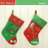 best selling felt fabric dog and cat stocking new pet christmas products