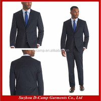 MBS-119 Navy stripe slim suit jacket men suits fashion