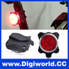 USB Rechargeable Bike Front Light Head Rear Tail Flashlight LED Bicycle Light
