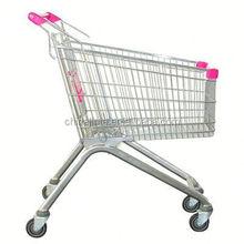 supermarket equipment shopping trolley used shopping carts sale/cheap folding shopping cart bag