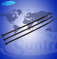 Cable Ties Back 7.2*380 Cable Tie Releasable