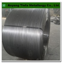 Steel making Additives FeMn metal alloy , ferro manganese alloy cored wire