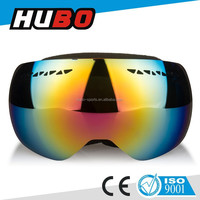 Custom snowboard goggle replaceable PC lens fashion skiing snow goggles