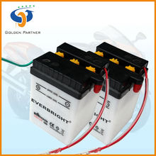 Fast chemical reaction dry charged 6n4-2a deep cycle battery motorcycle