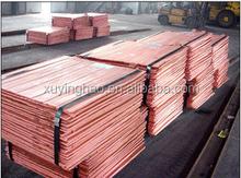 Exportação catodo de cobre / / venda quente limpa preço do cobre
