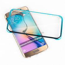 Fashion design mirror hard phone case for samsung s6 edge tpu case for iphone 6