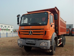 New condition 340hp 10 wheels front tipping Beiben tipper/dump truck for sale