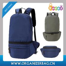 Encai Leisure Foldable Backpack Waterproof Packsack Light Weitght Multi Waist Bag Backpack