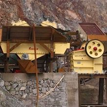 Good quality mining equipment iron ore stone crusher plant for road construction