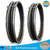 Big diameter flue duct rubber bellows compensator for thermal power piping