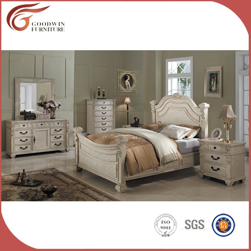 Solid Wood China Bedroom Furniture WA143 View Solid Wood Furniture