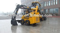 XCMG XT873 mini/small backhoe loader with high quality for sale