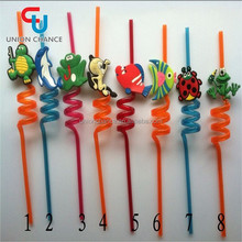 Colorful Drinking Straws Novelty Drinking Straws Hard Plastic Drinking Straw