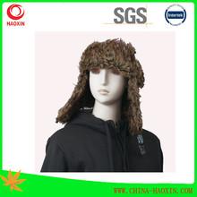 de invierno chica jamaica corte de punto sombrero rasta