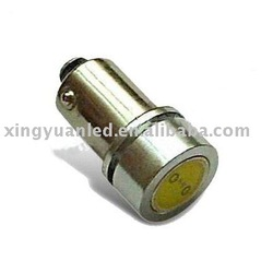 White 1W High Power Bayonet BA9 57 64111 H6W LED Bulbs