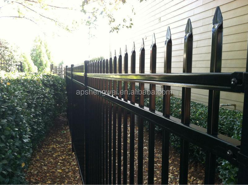 Iron gates models wrought iron fence designs luxury for Luxury fences