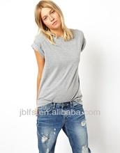 Bella style t-shirts women thin cotton t-shirt
