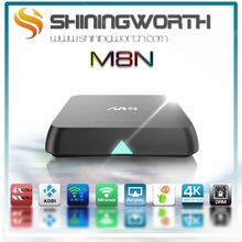 2015 best selling M8N Android smart tv box free sex porn youtube M8 quad core 4K Satellite TV