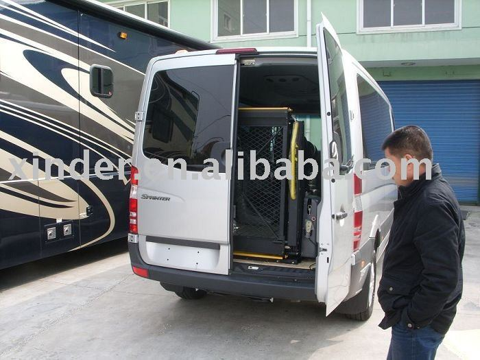 Hydraulic Wheelchair Lifts For Vans : Ce hydraulic wheelchair lift for van and minivan rear door