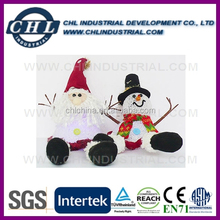 China manufacturer EVA LED light santa for christmas decoration