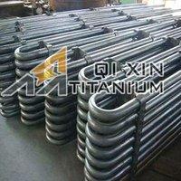 Gr2 Titanium Condenser Coil Tube evaporation coil