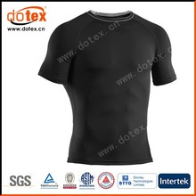 2015 moisture wicking fit compression tops compression fitness jersey