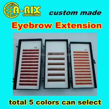 wholesale high quality extension lashes false eyebrow