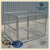 factory galvanized iron welded wire mesh dog cage play pen with1 run