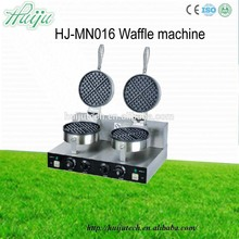 110V Full Automatic carbon waffle maker machine Kitchen Gourmet Electric 2 Slice Food & Beverage Machinery HJ-MN016