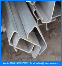 JIS G3101 SS400 Hot rolled and Cold bending Steel Channel sizes 9M/12M 125*65mm