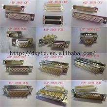 D-sub Connector D-SUB R/A MTL BKT 4-40 POST DE9P1A8NA191