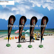 Suction cup teardrop flags for glass,table use