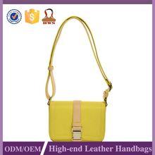 Guangzhou PU Famous Brand Casual Messenger Crossbody Leather Bag