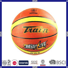 China good quality customized logo official size rubber basketball
