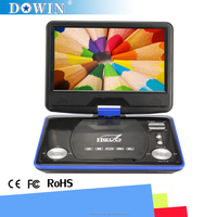 china factory wholesale USB SD GAME TV 3D SMART video Hot!!! 9 Inch Portable DVD Player FL-108 With TV AV USB SD GAME Supported