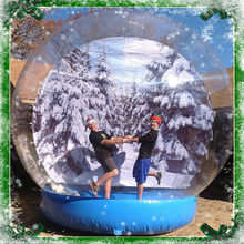 2016 popular cheap outdoor snow globe inflatable decorations on sales