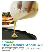 Silicone Measure Stir and Pour 01010265