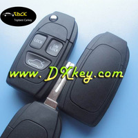 Fast Delivery 3 button car key shell (NE66) for volvo truck key volvo smart key